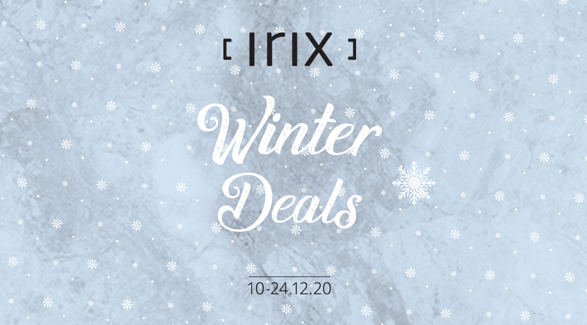 It's here! Irix Christmas season deals are now available!