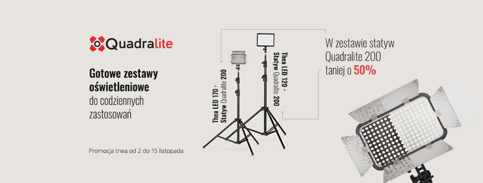 Quadralite Promocja