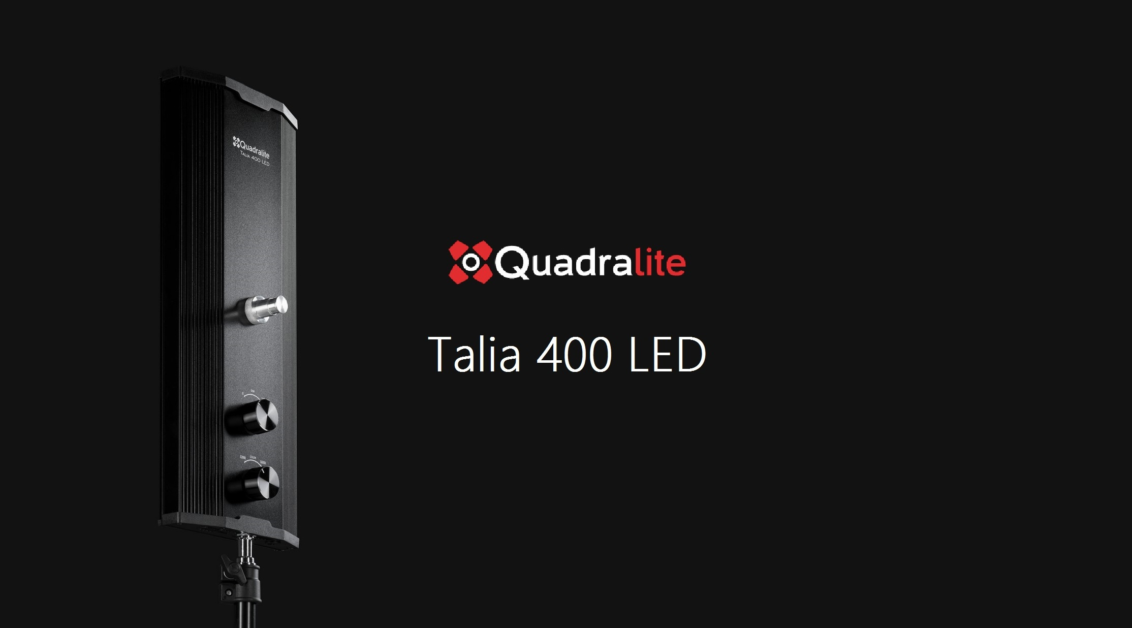 New Quadralite Talia 400 LED Panels